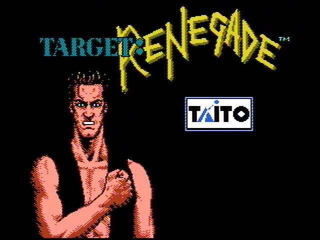 RETROANÁLISIS - RENEGADE SAGA (Parte 2: Target Renegade)