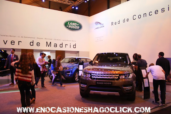 Range Rover en salon del automovil de Madrid 2014