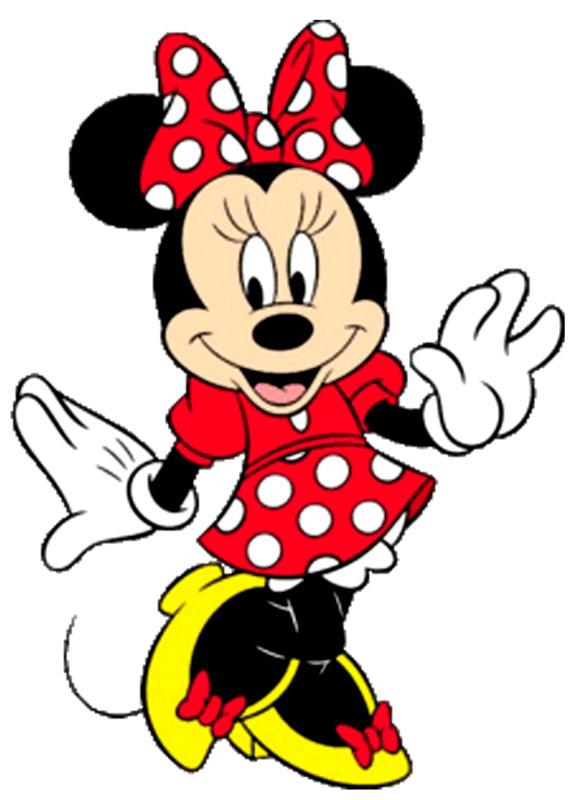Dibujo de la Minnie para imprimir - Imagui