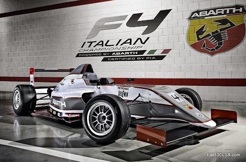 Abarth F4 championship race car