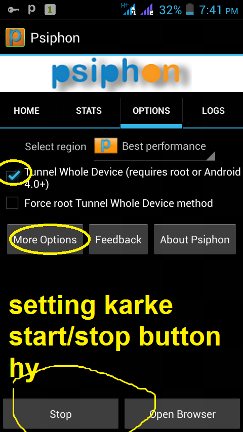 Zong 3g free internet settings for psiphon