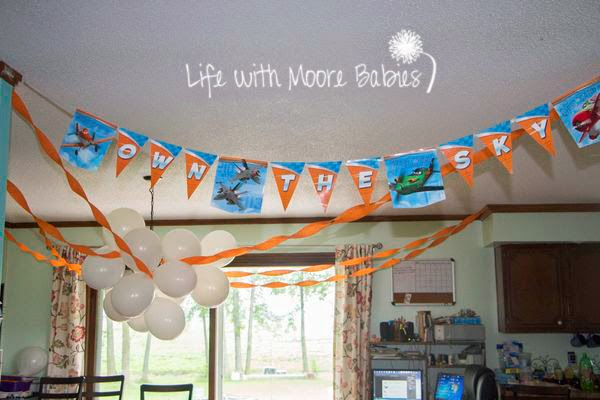 Planes Party Decorations
