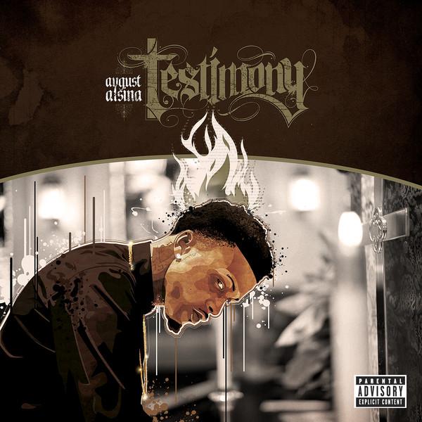 August Alsina - Testimony (Deluxe Version)   Cover