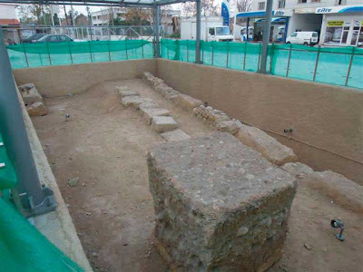 Section of the Athenian Sacred Way revealed