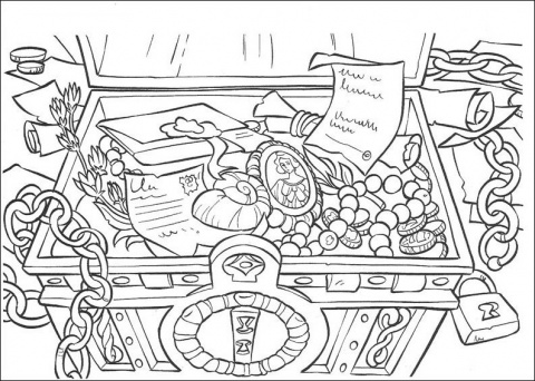 here are a few treasure chest coloring pages to keep those little treasure hunters entertained whether they are little pirates treasure hunters