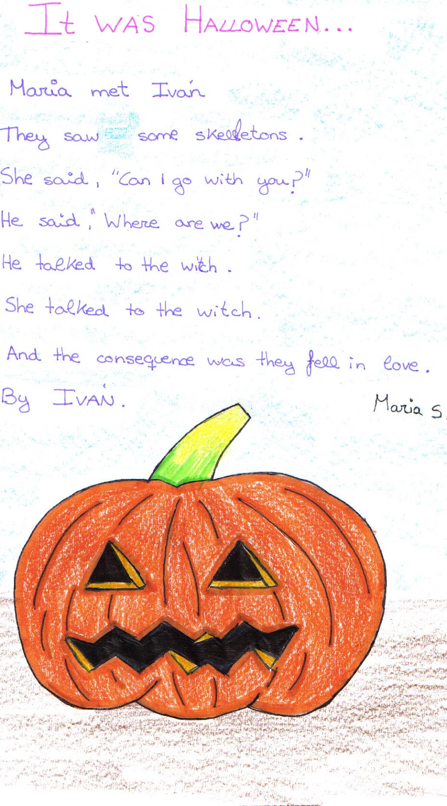 pick english with tics: halloween stories.