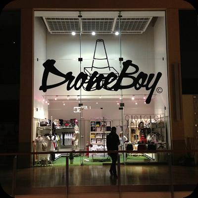 Droneboy pop up shopfront