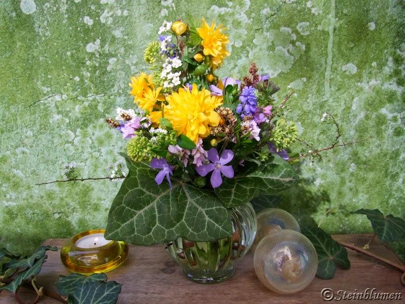 Blumenstrauß im Frühling
