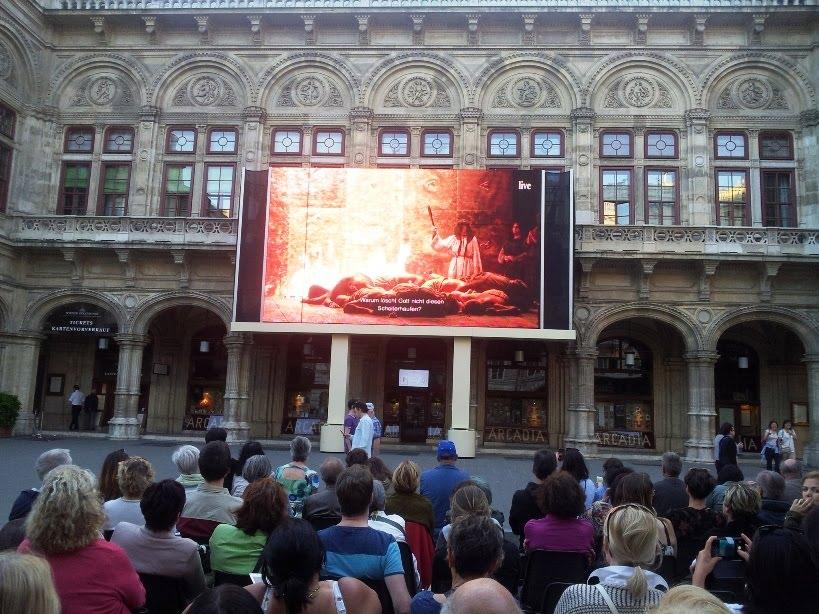 Opera dışında kurulu ekran