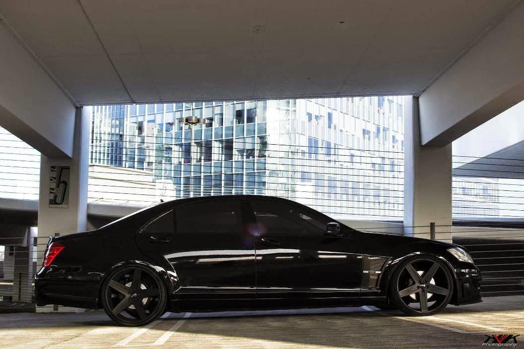 w221 black on black