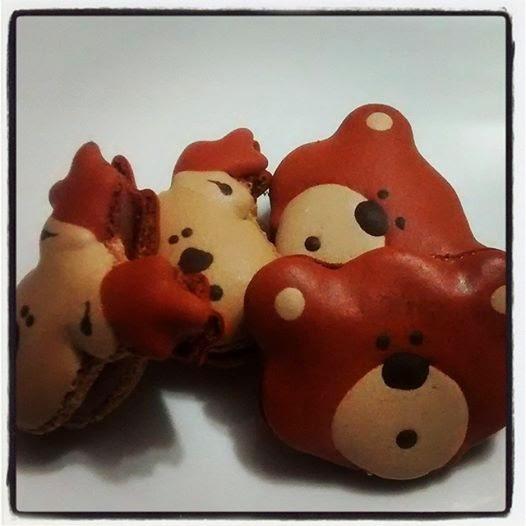 Macarons de bichinhos