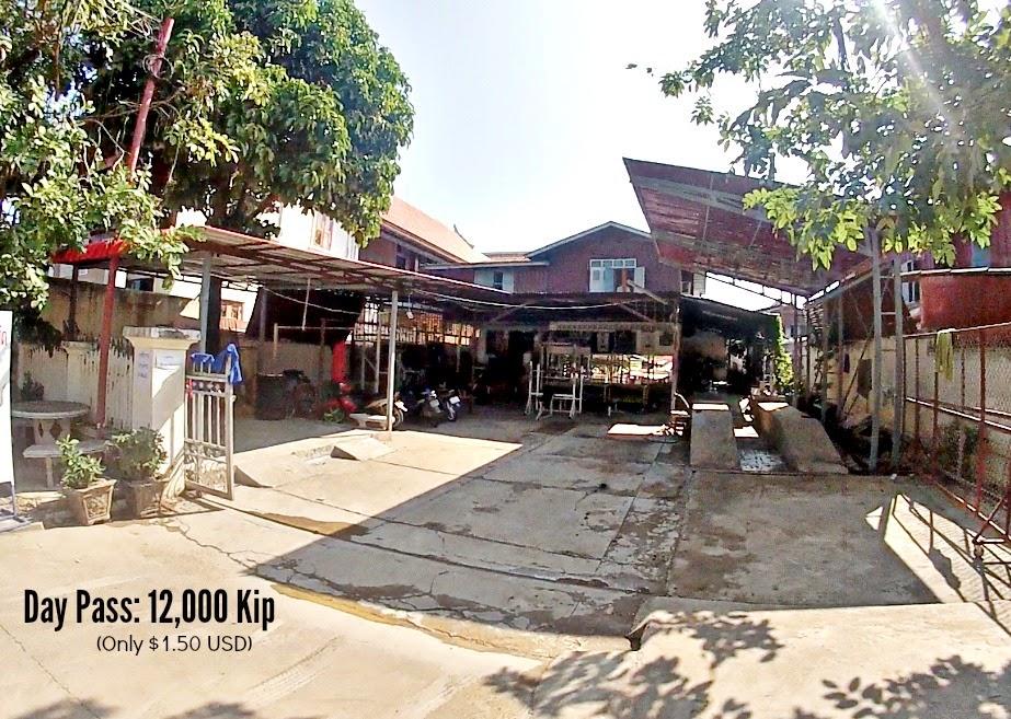 Gym in Luang Prabang P90x