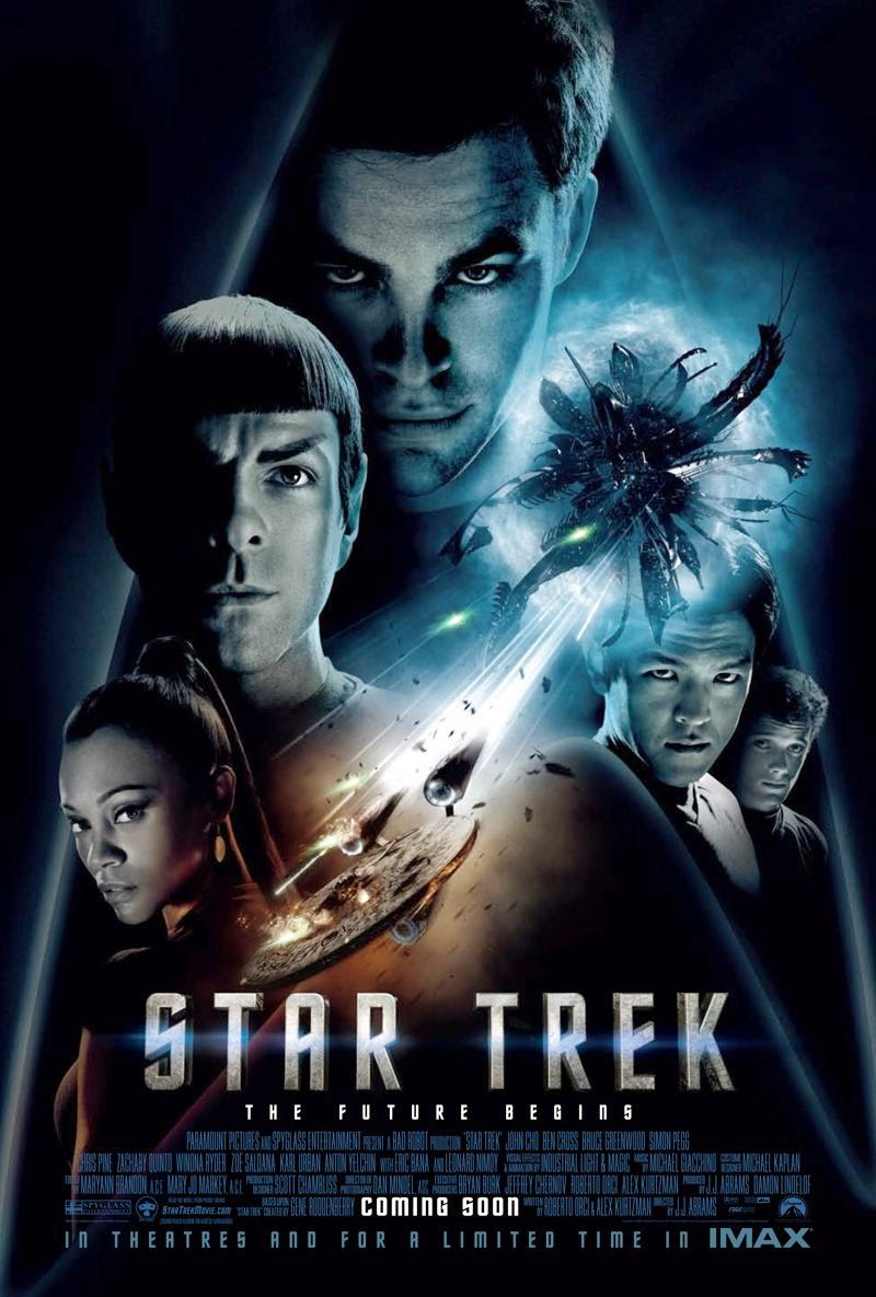 Star Trek 11: Un Nuevo Comienzo (2009) [DVDRip] [Latino] [1 Link] [MEGA]