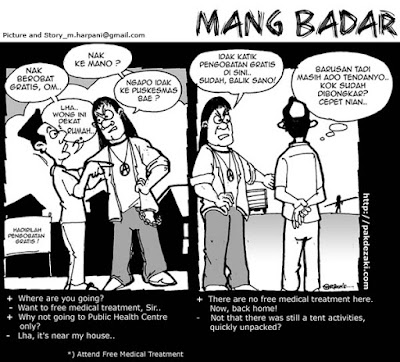 Komik Strip, Komik Indonesia, Propaganda Comic