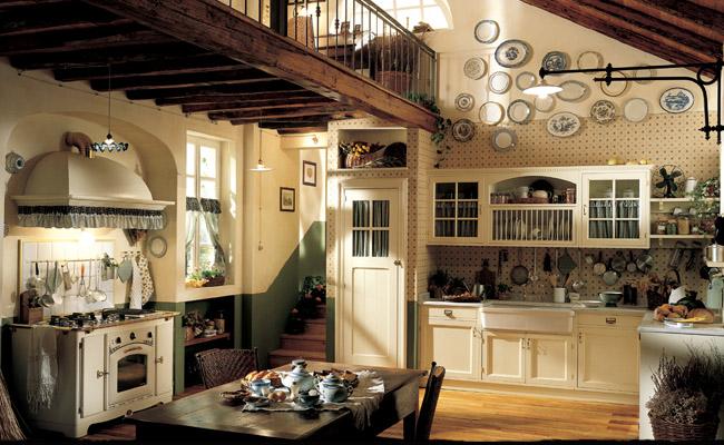 Imbiancare casa idee idee per imbiancare le pareti di una - Cucina rustica per taverna ...