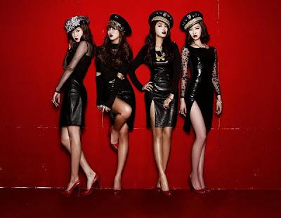 Korean Model - Kpop Group SISTAR's Alone Album
