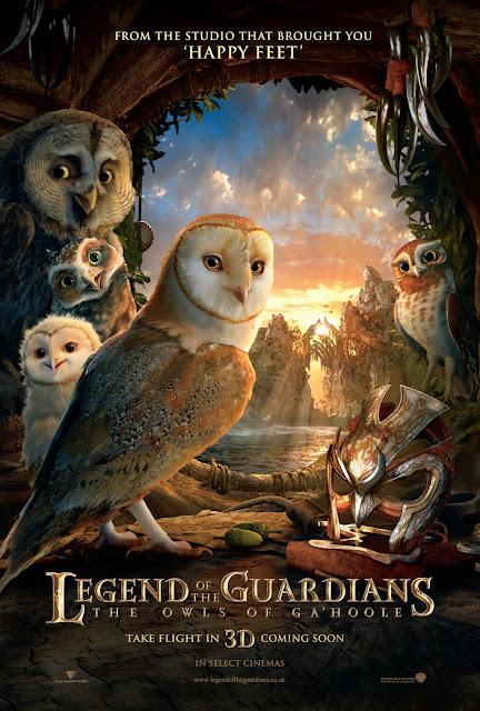 Legend Of The Guardians มหาตํานานวีรบุรุษองครักษ์ นกฮูกผู้พิทักษ์แห่งกาฮูล