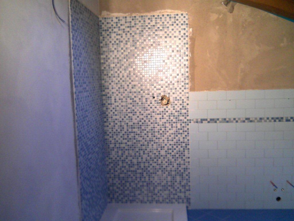 Favorito Bagno mosaico azzurro | GABBATORE MATTIA WX87