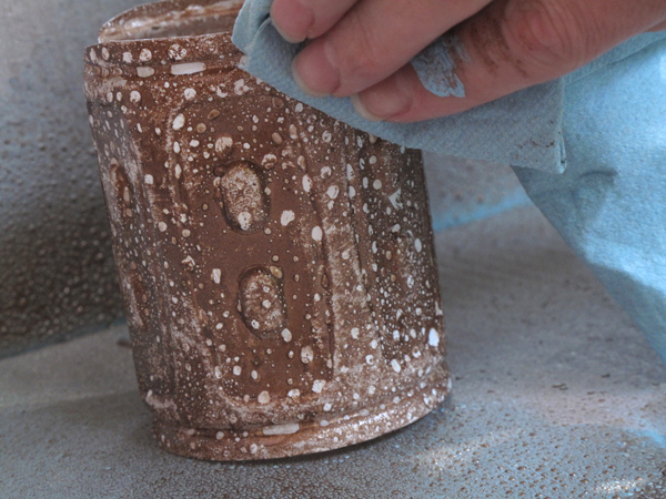 Bespangled Jewelry Upcycled Plastic Water Bottle Planters A Cool Spray Painting Technique