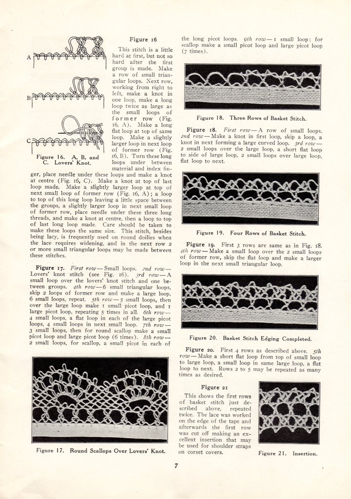 turkish needle lace instructions