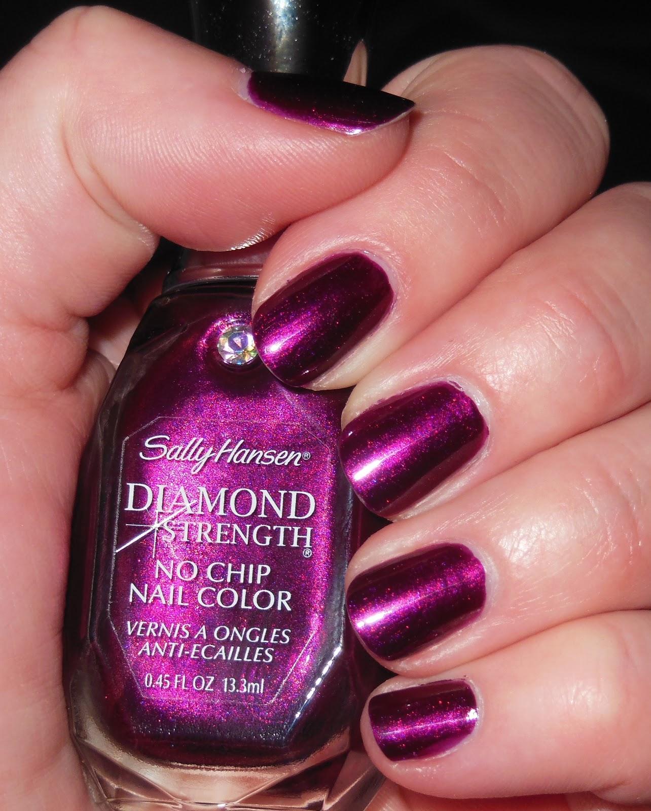glambunctious!: REVIEW! | Sally Hansen Diamond Strength No Chip Nail ...