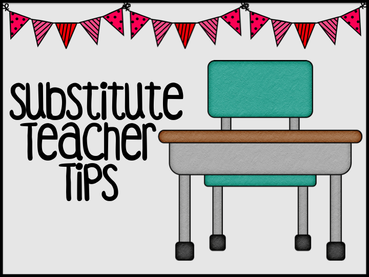 Sub Plans Tips on Back To School Advice Tips For New Teachers