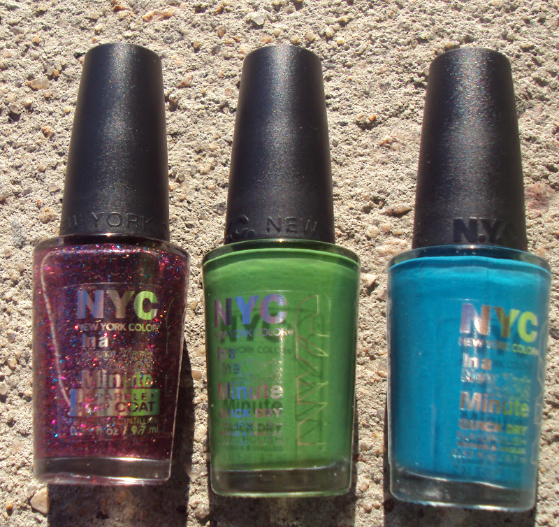 Nyc Metallic Nail Polish: Glamonthecheap: NYC New For 2012 Nail Polishes--swatches