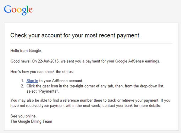 Sreenshot google transfer