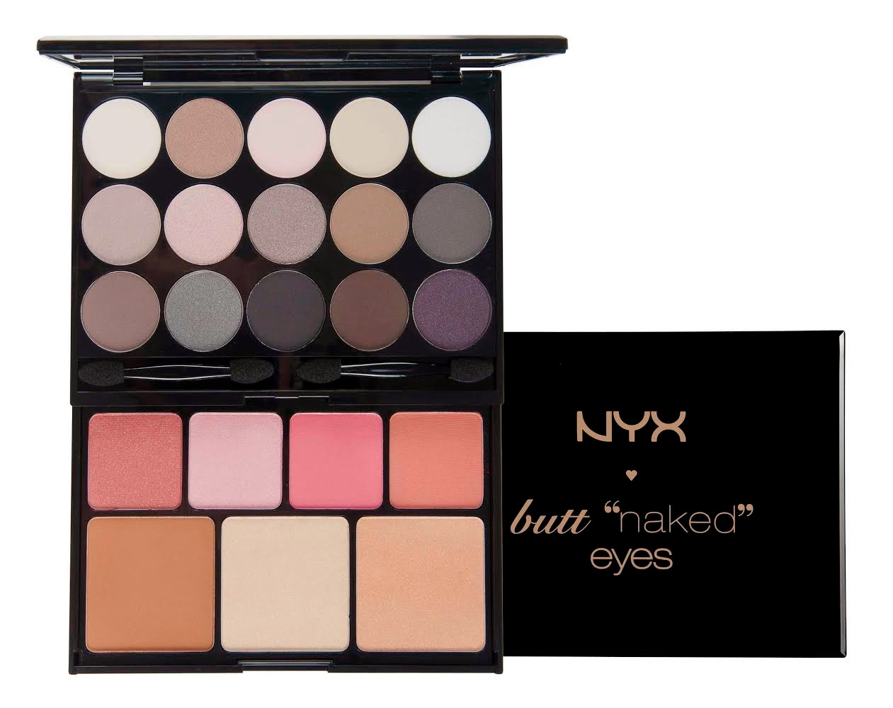 NYX Christmas 2014 palette