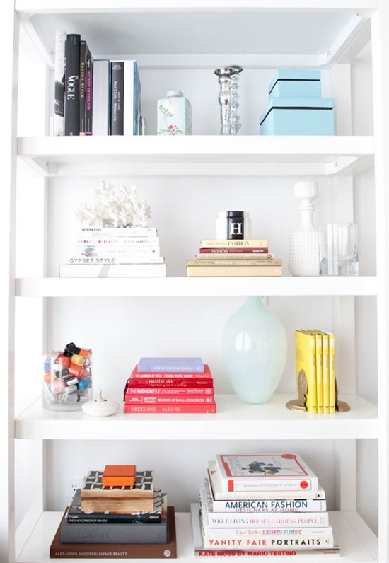 Home Styling Ana Antunes How To Arrange Books On