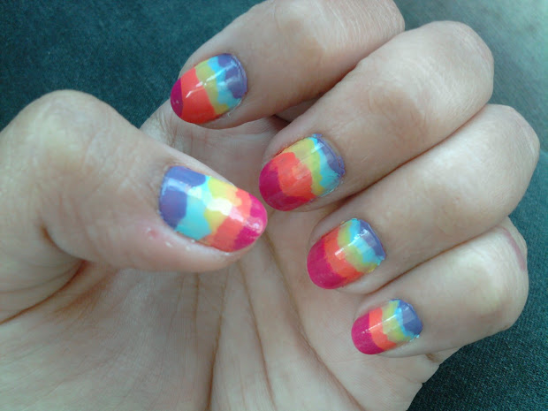 farry island cute nail art