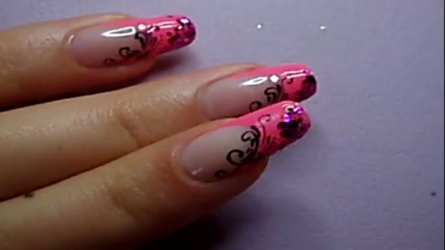 Manikir-obuka-tutorijal-4-(pink-french-manikir-sa-arabeskama)-013