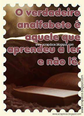 Foto Mensagem sobre Leitura/Reflexão/Verdades para Compartilhar no Facebook