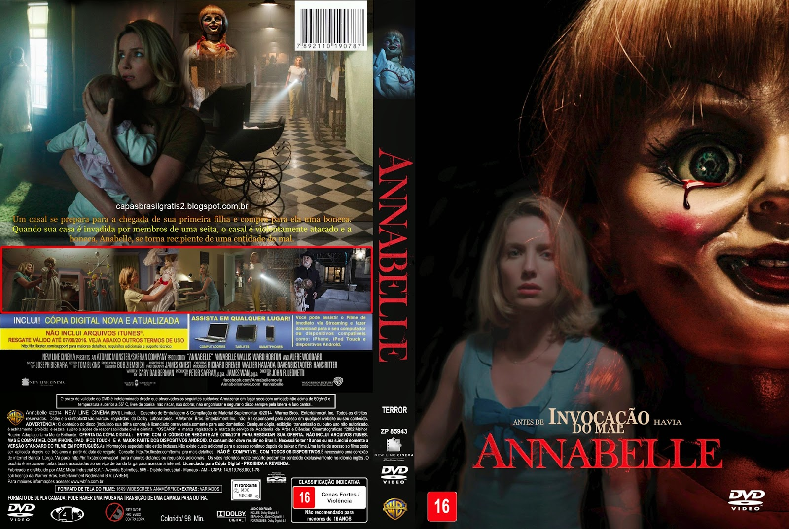 Download Annabelle HDRip XviD Dual Áudio Annabelle