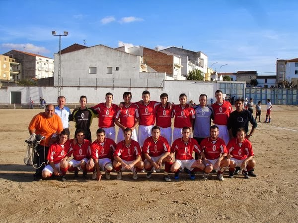 El CF Extremadura visitó Campanario (2009/2010)