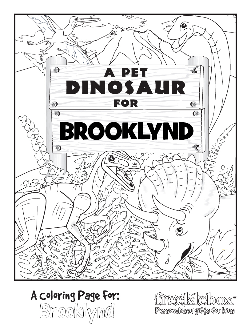 My Kind Of Introduction: Free PERSONALIZED Coloring Pages ...
