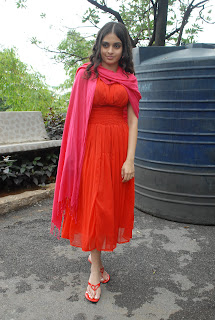 Sheena Shahabadi Sizzling Cute Red Sleeveless Gown Lovely Pictures