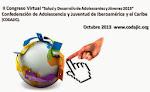 """II Congreso Virtual """"Salud y Desarrollo de Adolescentes y Jóvenes 2013 """""""