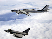 Eurofighter Typhoon & Tu-95 Bear