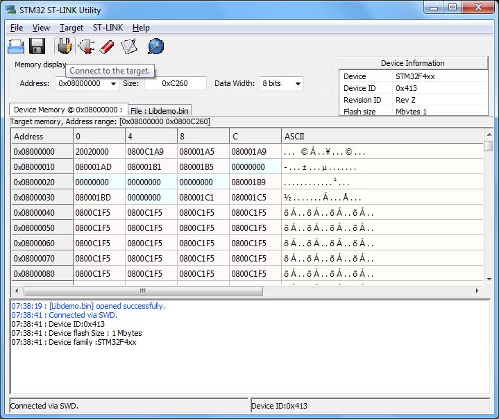 download stm32 st link utility