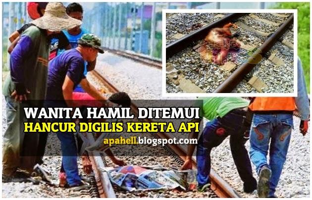 Wanita Hamil Hancur Digilis Kereta Api (7 Gambar)  http://apahell.blogspot.com/2014/09/wanita-hamil-hancur-digilis-kereta-api.html