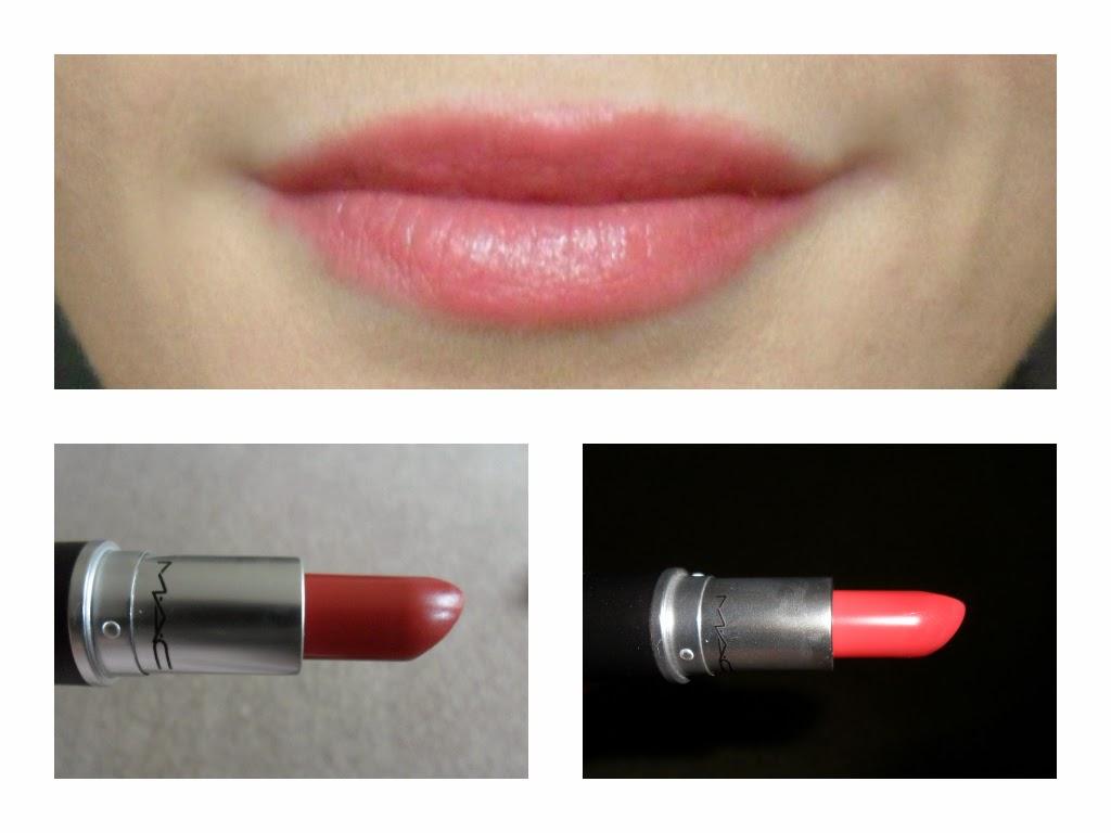 Favourite MAC lipsticks pale skin