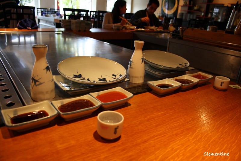 Le blog de clementine restaurant japonais sakura arnhem - Table de cuisson japonaise teppanyaki ...