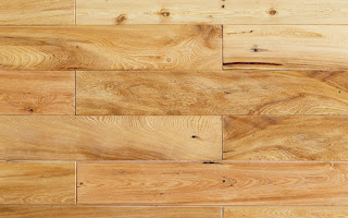 Hardwood flooring comes in a wide variety of stains and types.