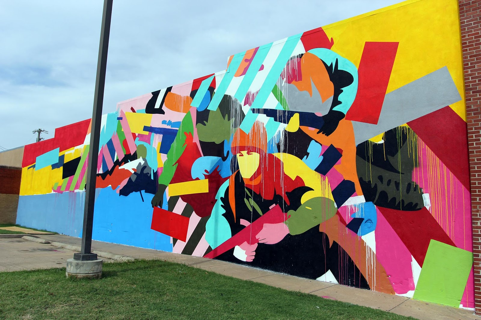 unexpected 15 maser creates a new mural in fort smith arkansas