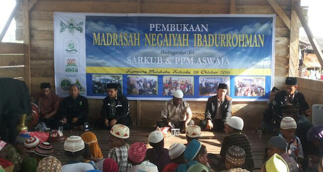 Aktifis Nu mendirikan madrasah di Papua