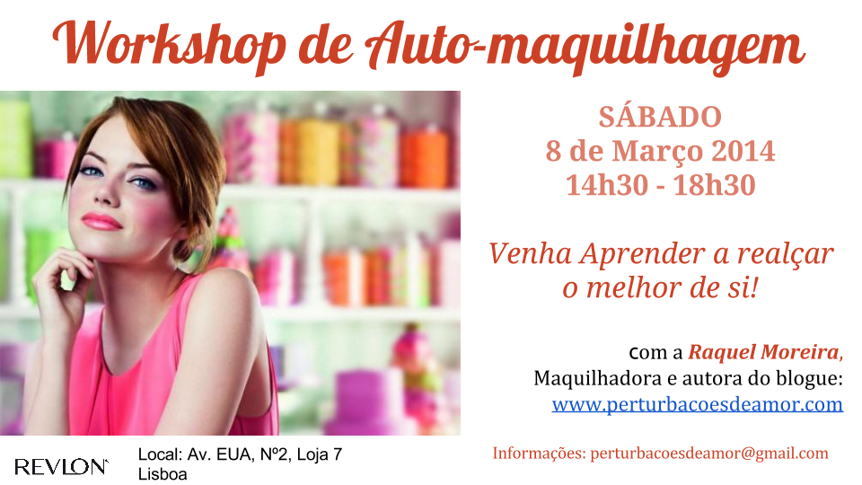 Workshop de Auto-maquilhagem
