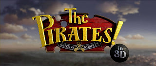 The Pirates Band of Misfits 3D Title Logo HD Wallpaper