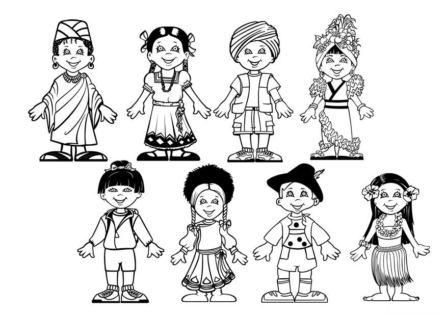 Dibujos infantiles de gente - Imagui