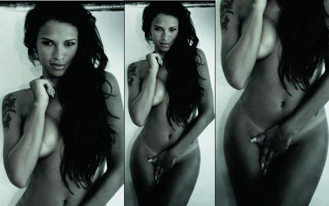 Seta Feira A Primeira Foto De Ariadna Arantes Na Playboy